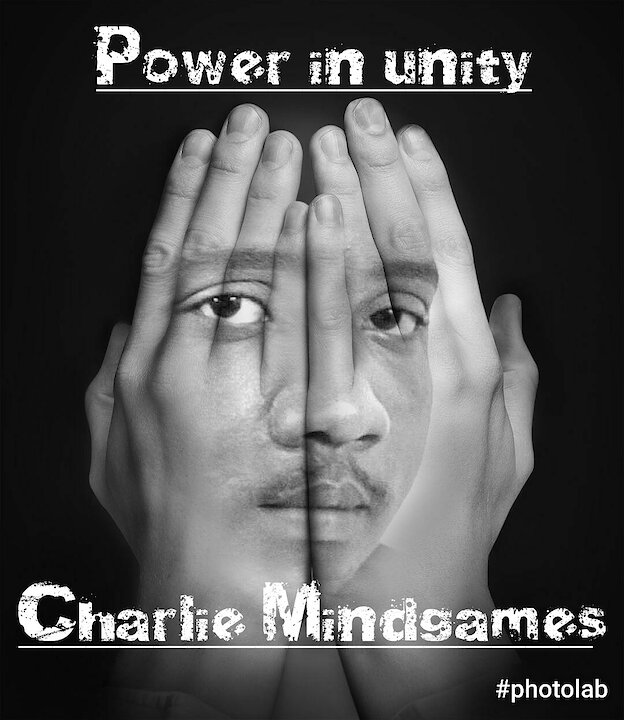 Music track poster Charlie Mindgames - Power in unity