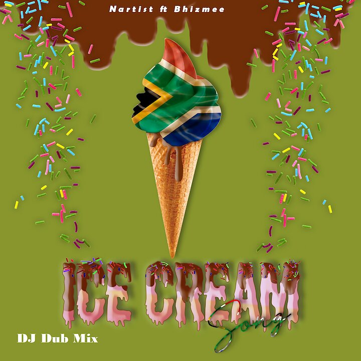 Music track poster Ice Cream Song DJ Dub Mix