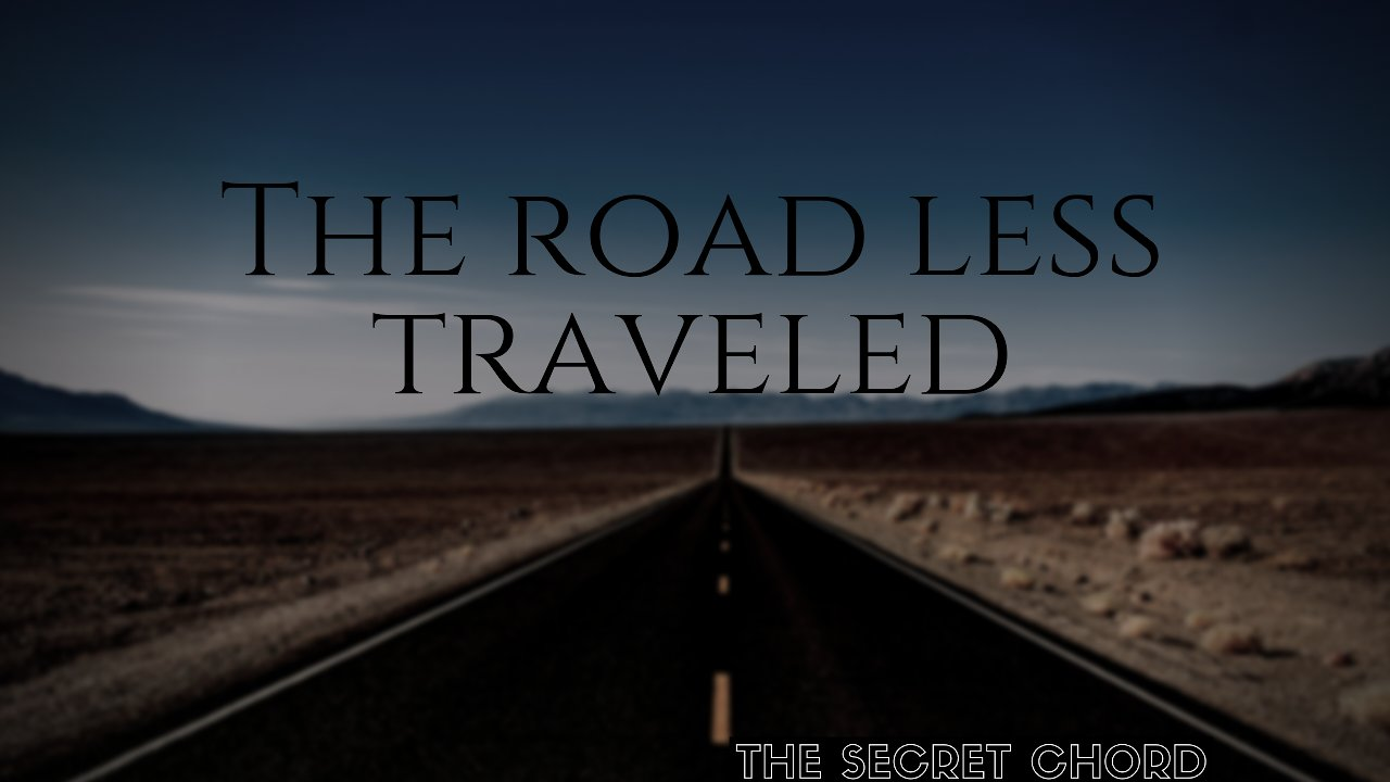 Music track poster The Road Less Traveled