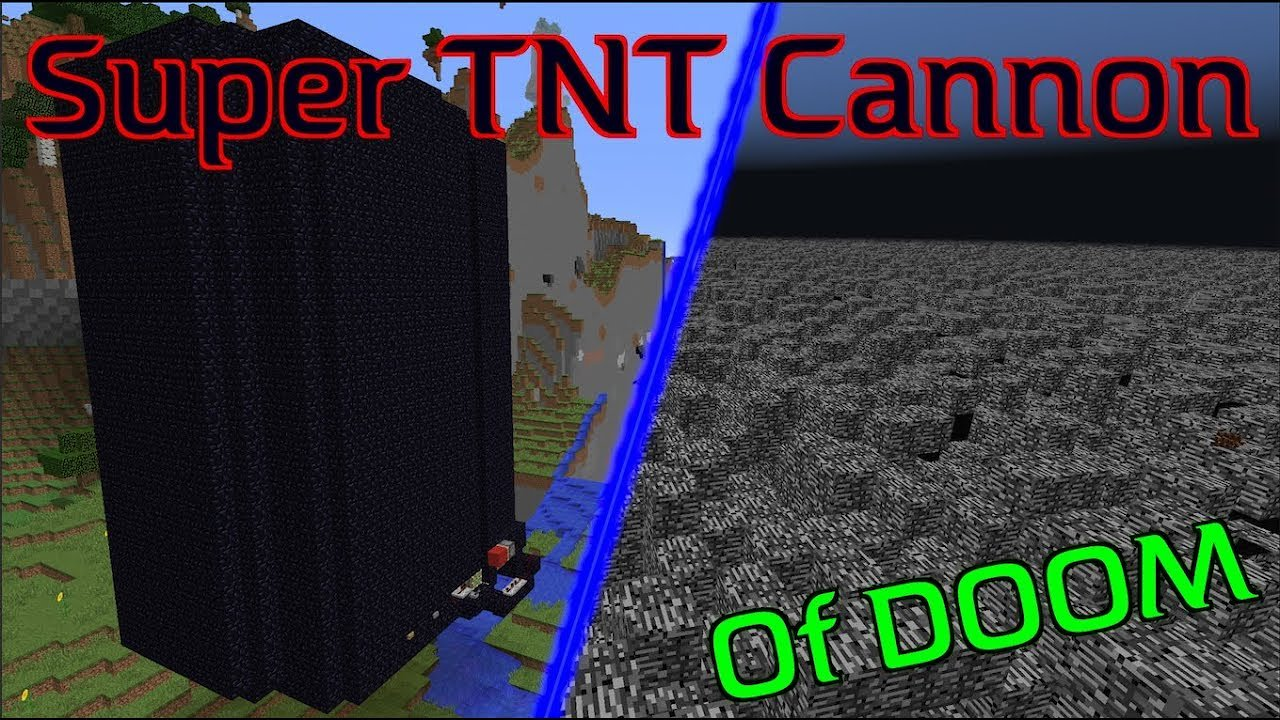 Video poster Super TNT Cannon of DOOM! | Minecraft