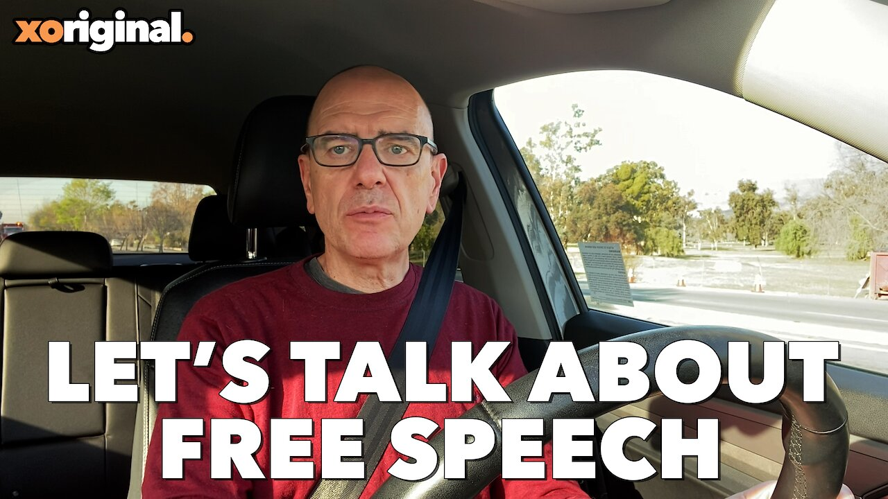 Video poster XOTV Vlog: Let's Talk About Free Speech