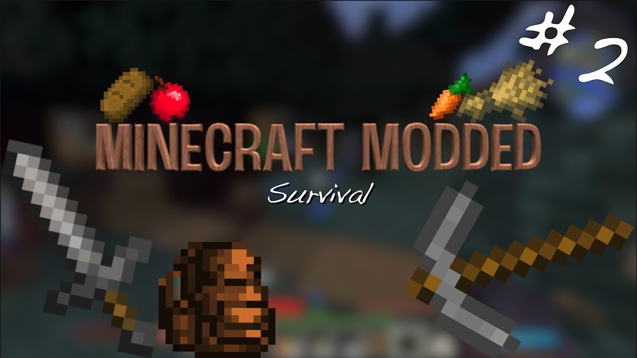 Video poster MOBS EVERYWHERE!! | Minecraft Modded Survival #2