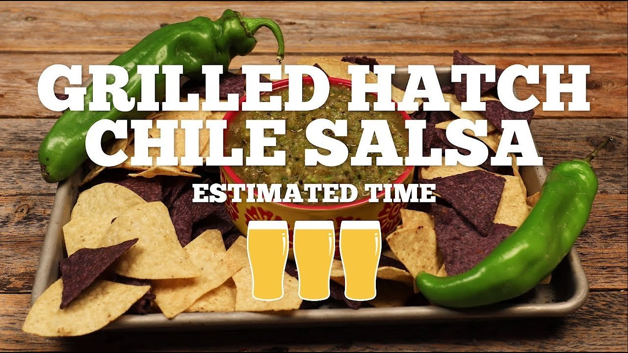 Video poster Grilled Hatch Green Chile Salsa Recipe - Episode 15
