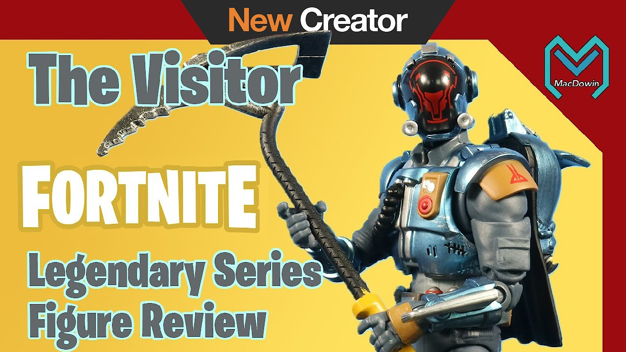 Video poster 2019 The Visitor Legendary Series Fortnite Action Figure by Jazwares