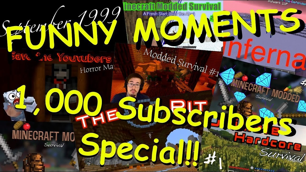 Video poster 1,000 Subscribers FUNNY MOMENTS SPECIAL!!