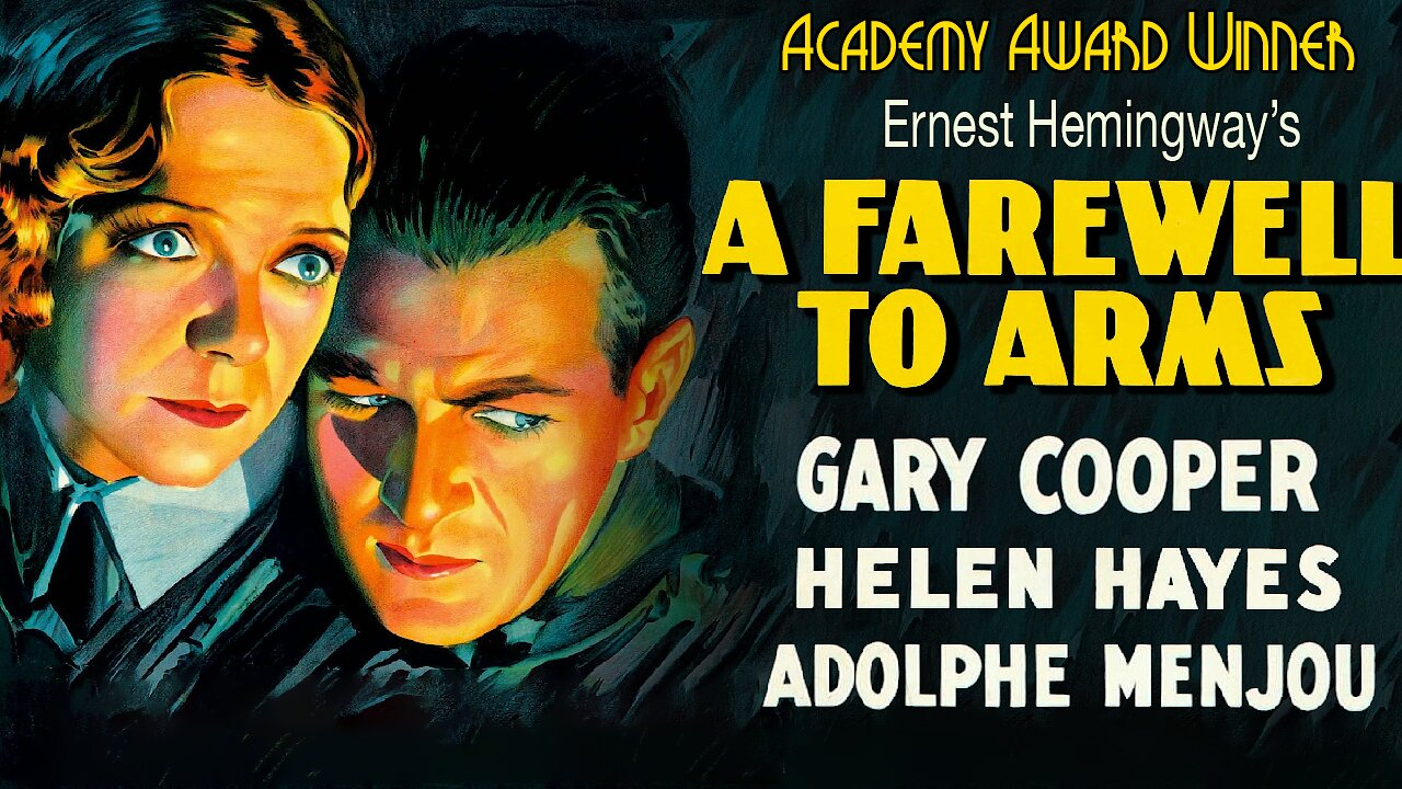 Video poster Gary Cooper: A Farewell to Arms