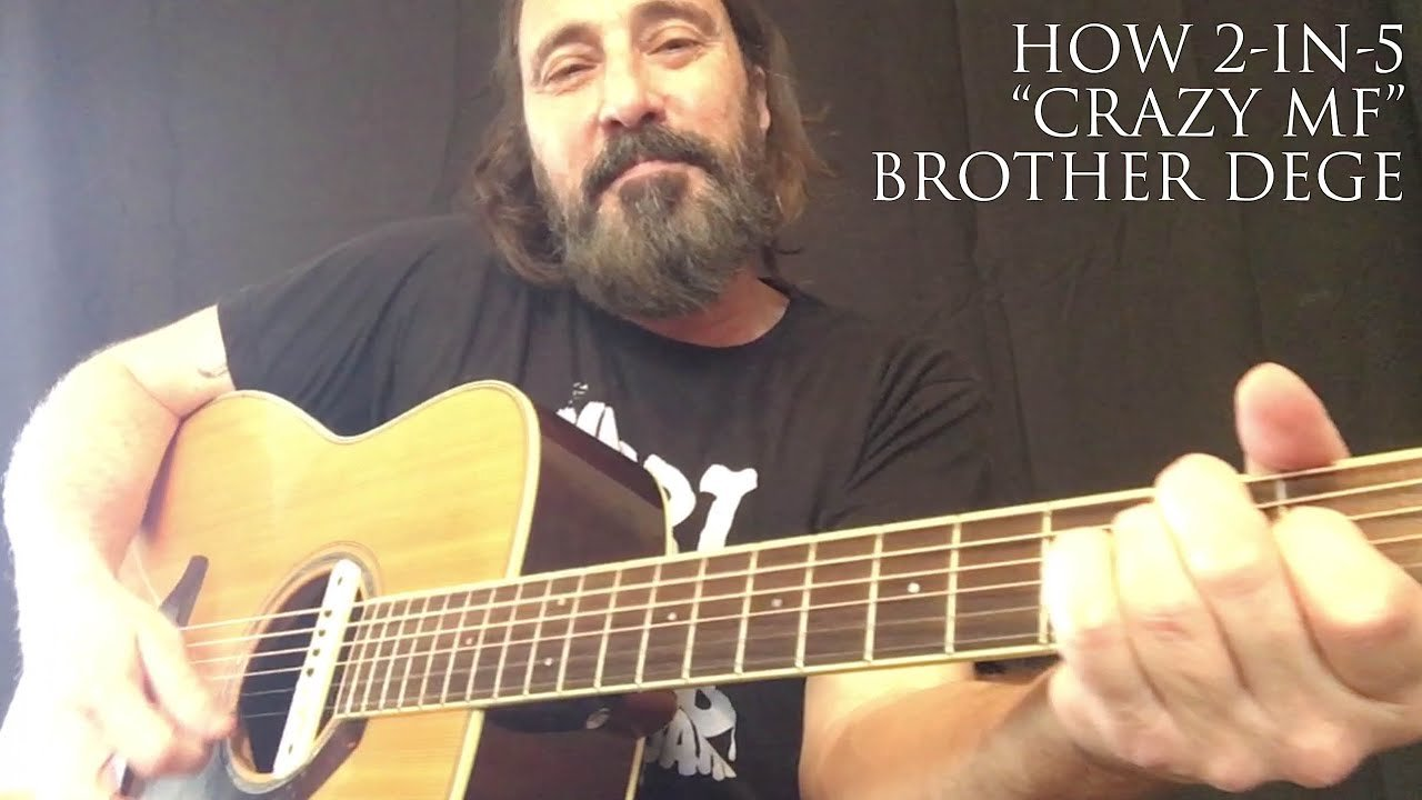 "Video poster Brother Dege | HOW 2-IN-5 | ""Crazy Motherf*cker"""