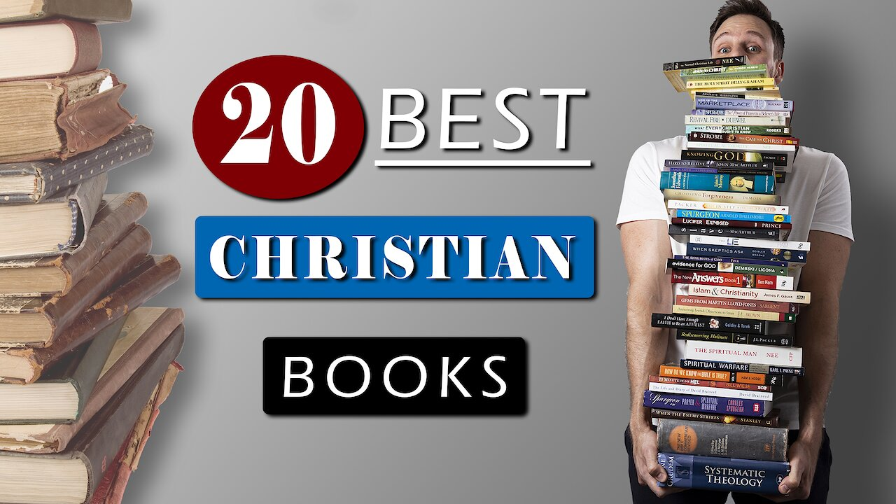Video poster 20 BEST CHRISTIAN BOOKS of all time