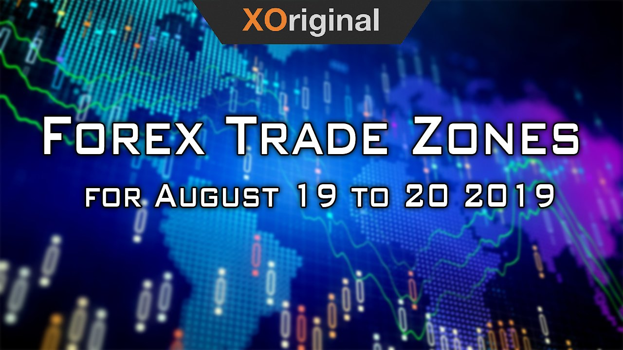 Video poster Forex Trade Zones for August 19 to 20 2019