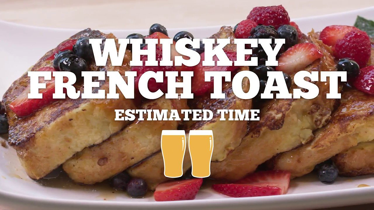 Video poster Grilled Whiskey French Toast Recipe - Episode 21
