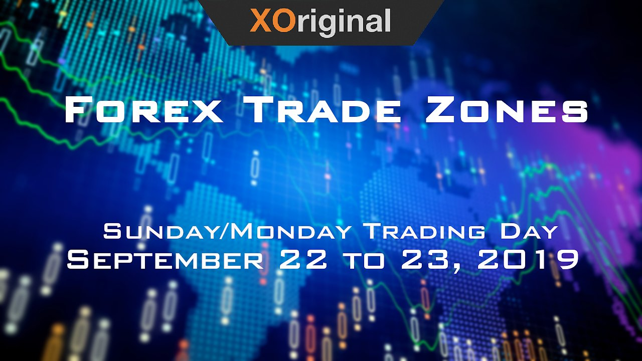 Video poster Forex Trade Zones for September 22 to 23, 2019