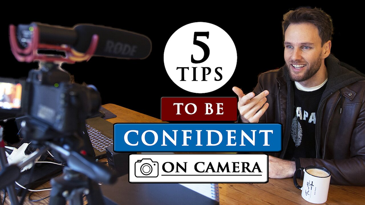 Video poster How to TALK to the CAMERA CONFIDENTLY and COMFORTABLY