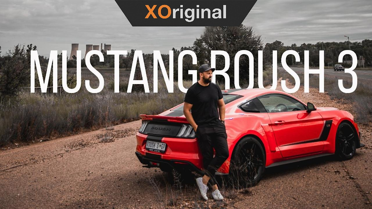 Video poster Ford Mustang Roush 3 Test Drive