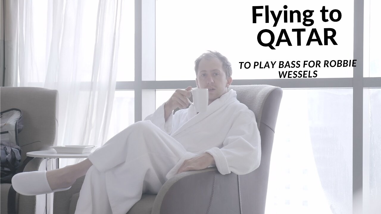 Video poster Trip to Qatar to play bass