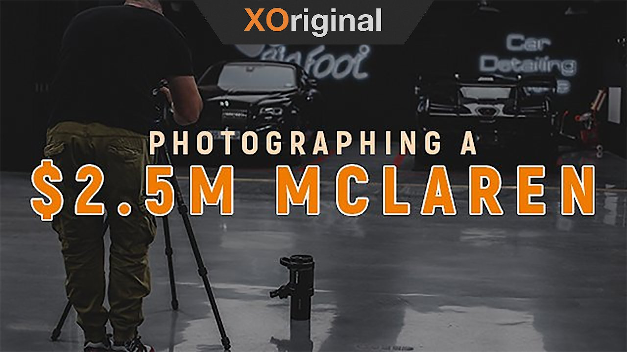 Video poster $2.5M Exotic Car Photography