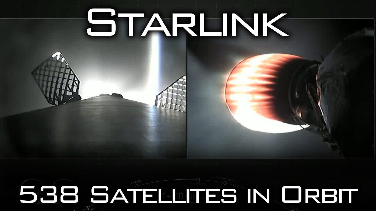Video poster Starlink Mission 9