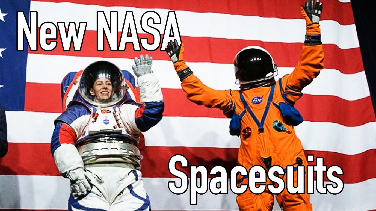 Video poster NASA Introduces New Spacesuits for the Moon and Mars