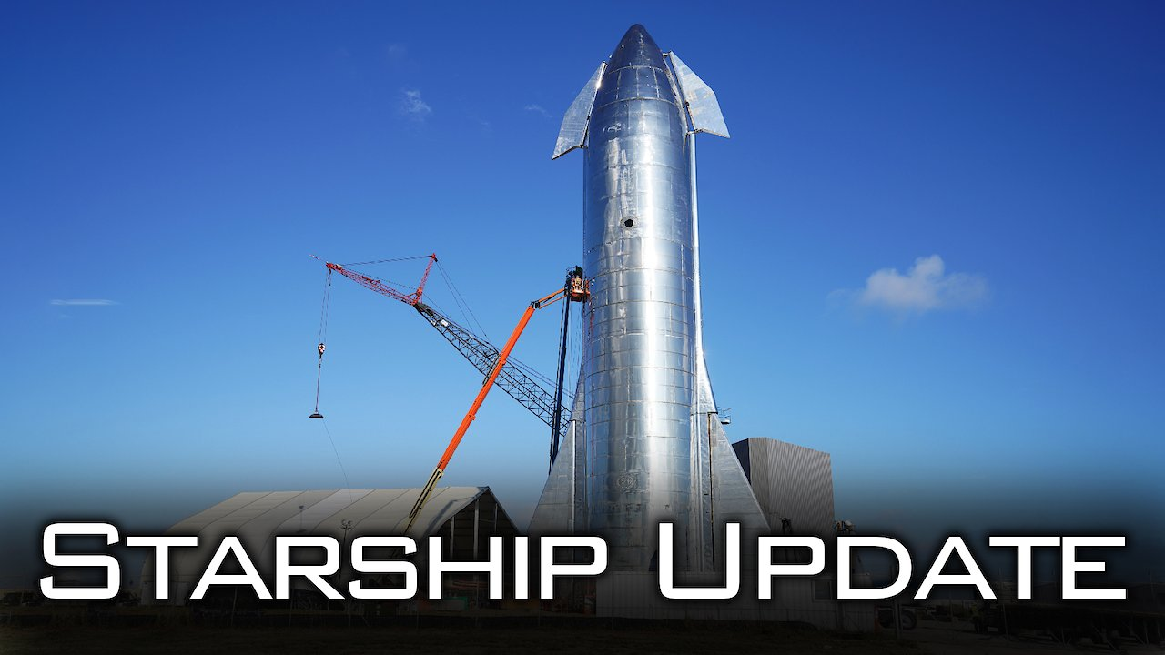 Video poster Starship Update
