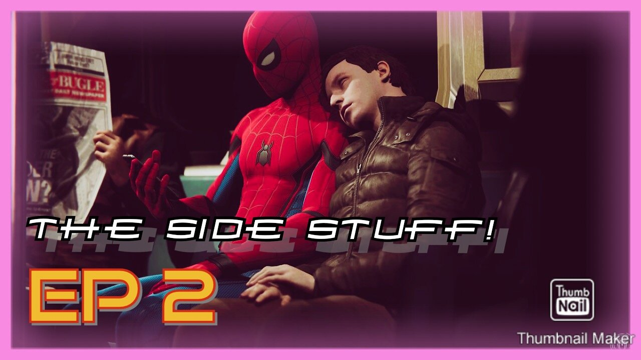 Video poster CRASHING INTO PEOPLE AND TAKING PICTURES?! | The Side Stuff! Ep. 2 (Marvel's Spider-Man)
