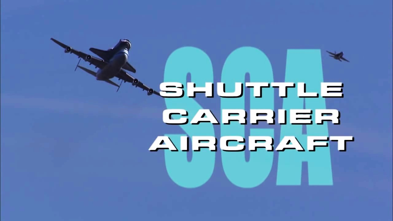 Video poster SCA - Shuttle Carrier Aircraft