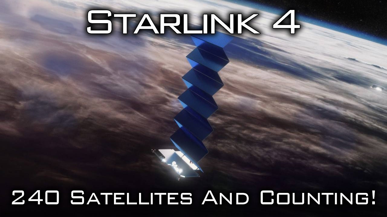 Video poster Starlink Mission 4
