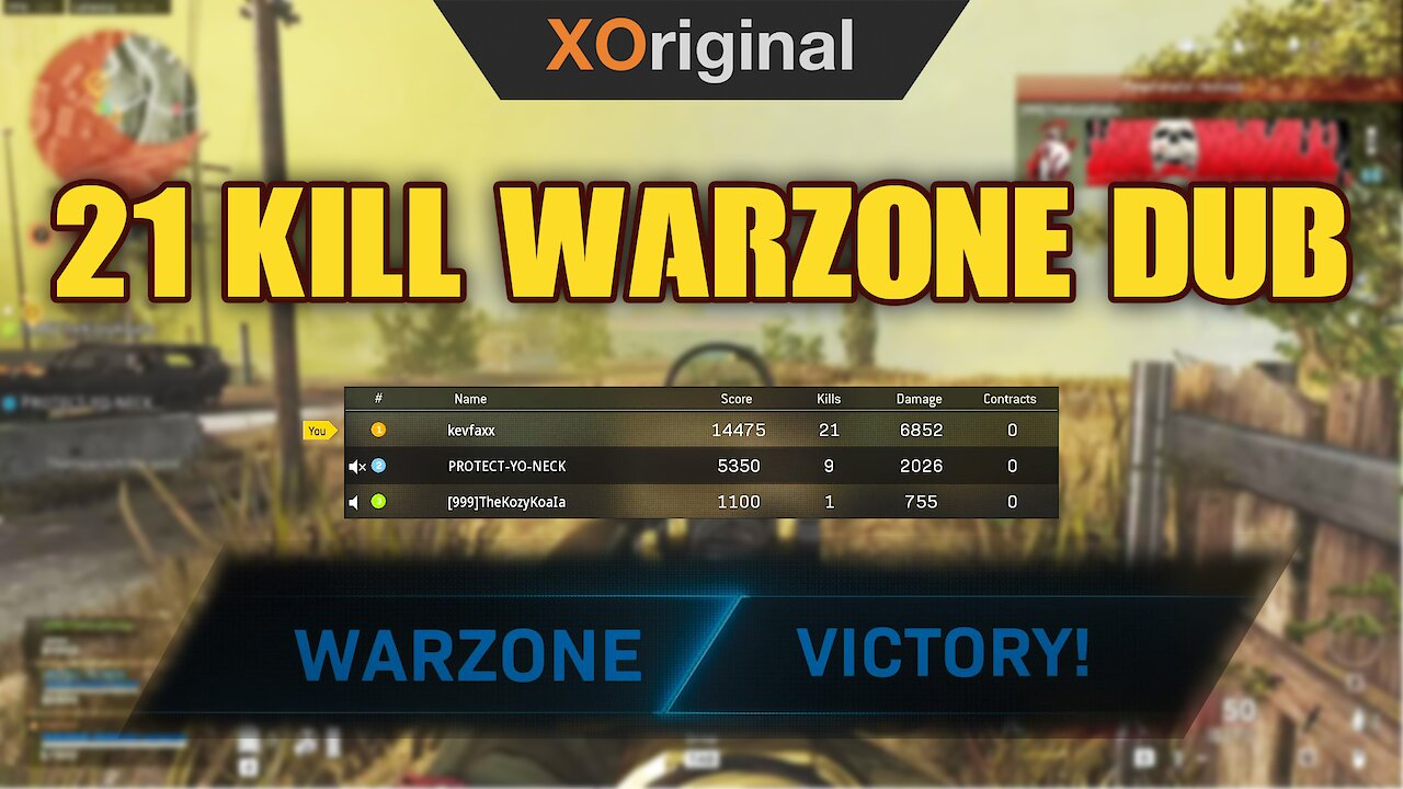 Video poster 21 Kill Warzone Dub with the Bois! *Volume Warning at the end actually*