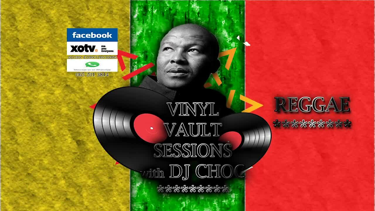 Video poster Vinyl Vault Sessions Reggae with DJ Choc