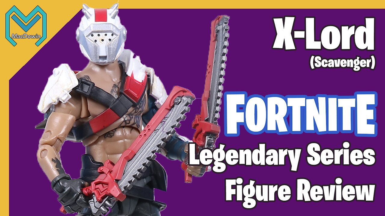 Video poster *NEW X-LORD LEGENDARY SERIES 2020* | Action Figure Review | Jazwares Fortnite