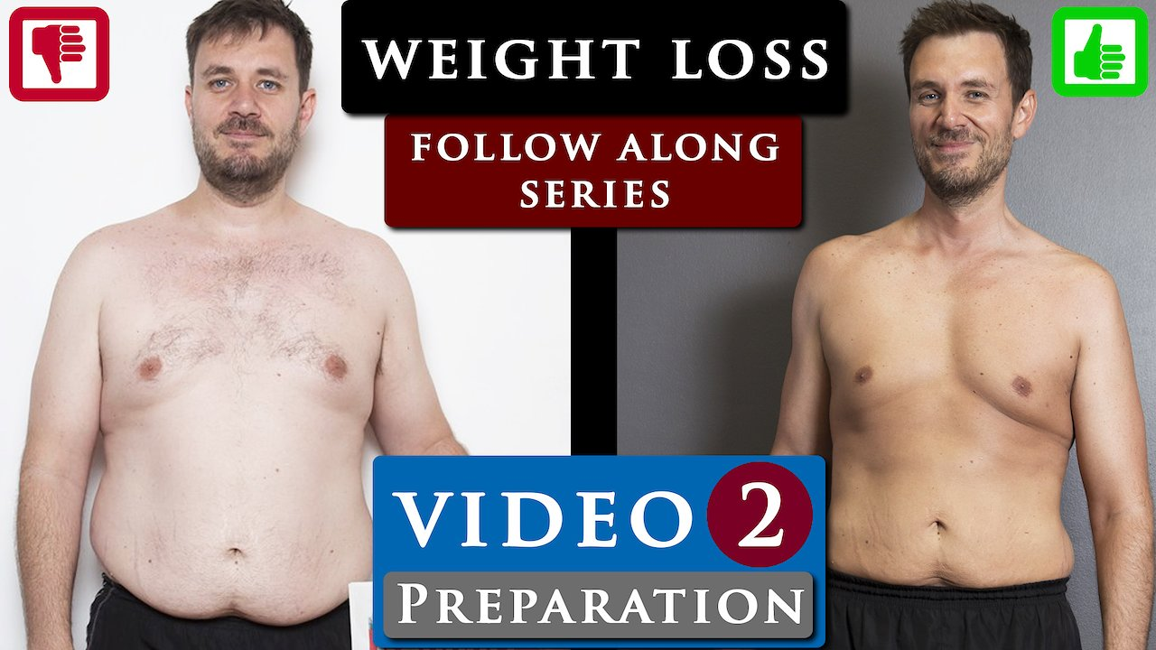 Video poster Male BODY TRANSFORMATION fat to fit FOLLOW ALONG | VIDEO 2 - Preparation