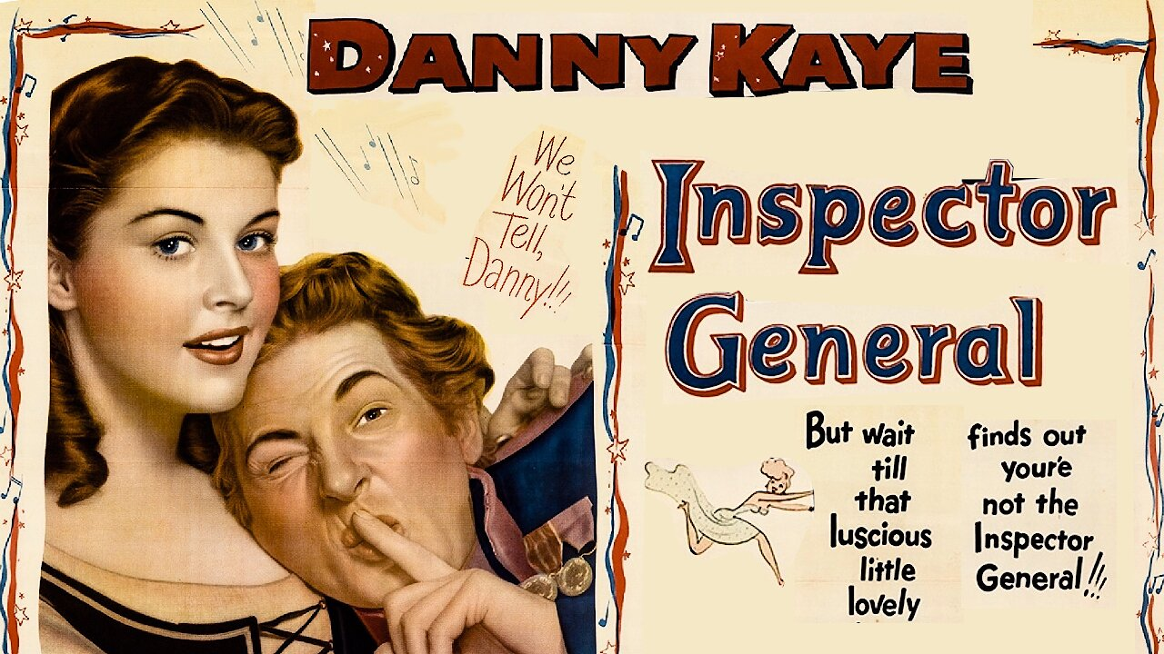 Video poster Danny Kaye: The Inspector General (1949)