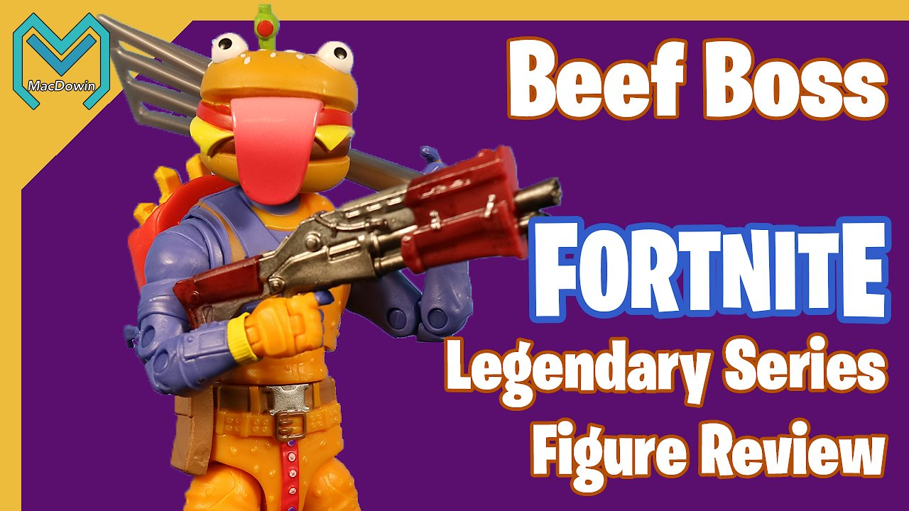 Video poster *NEW BEEF BOSS LEGENDARY SERIES 2020* | 6 inch Action Figure Review | Jazwares Fortnite