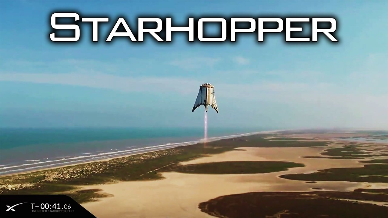 Video poster 150 Meter Starhopper Test