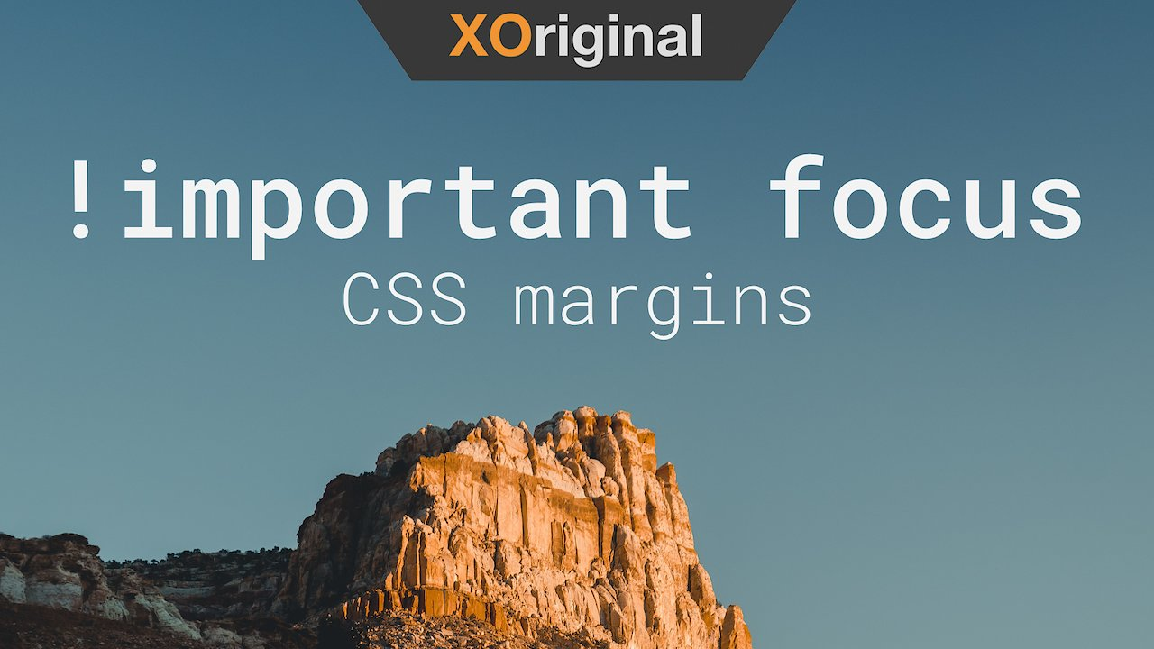 Video poster !important // Advanced CSS margins