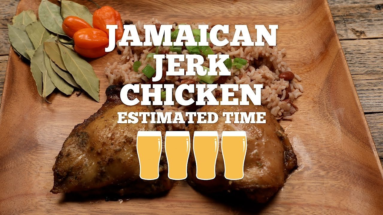 Video poster Jamaican Jerk Chicken Recipe - Episode 12