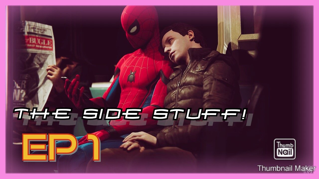 Video poster SPIDER-MAN PS4 | Ep 1 of The Side Stuff! Side Missions, Backpacks, Etc.