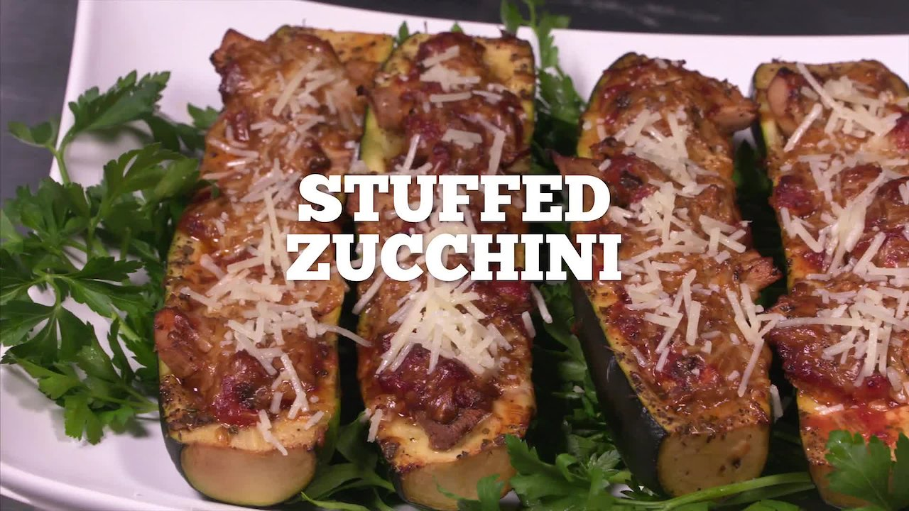 Video poster Stuffed Zucchini Recipe - Episode 30