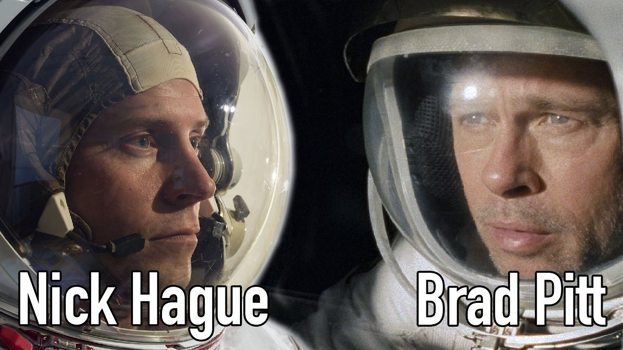 Video poster Brad Pitt Speaks with NASA Astronaut Nick Hague Aboard the International Space Station