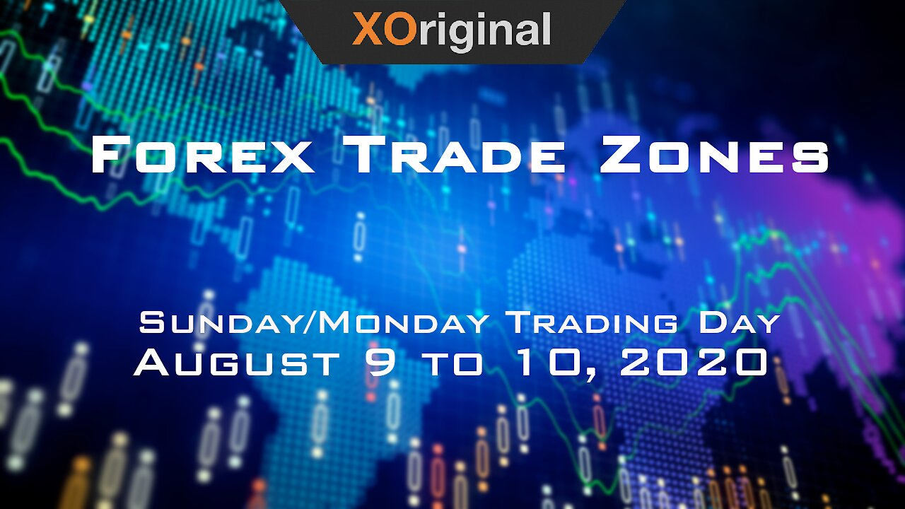 Video poster Forex Trade Zones for August 9 to 10,  2020