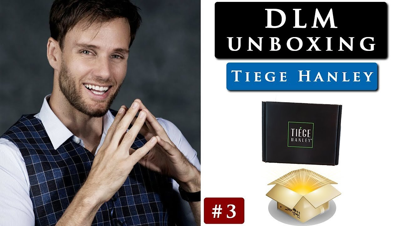 Video poster TIEGE HANLEY UNBOXING VIDEO & my opinion so far | DLM unboxing #3