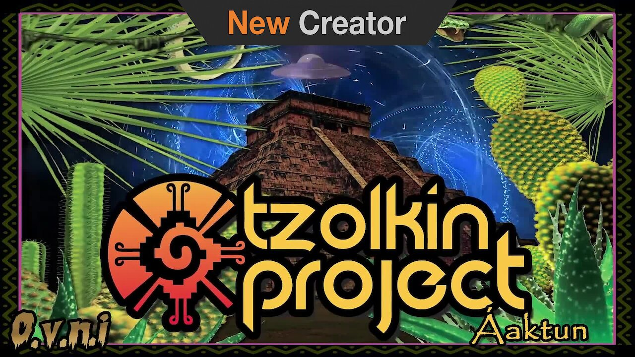 Video poster Tzolkin Project - Kukulcan 182 BPM OVNI REC