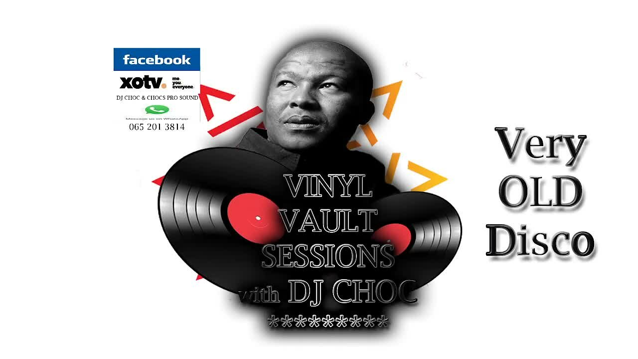 "Video poster DJ Choc ""Very"" Old School Disco Vinyl Vault"