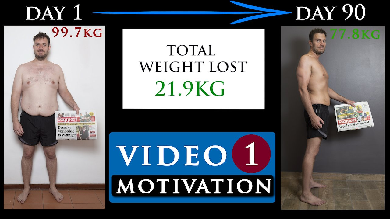 Video poster BODY TRANSFORMATION MOTIVATION video from FAT TO FIT | Video 1
