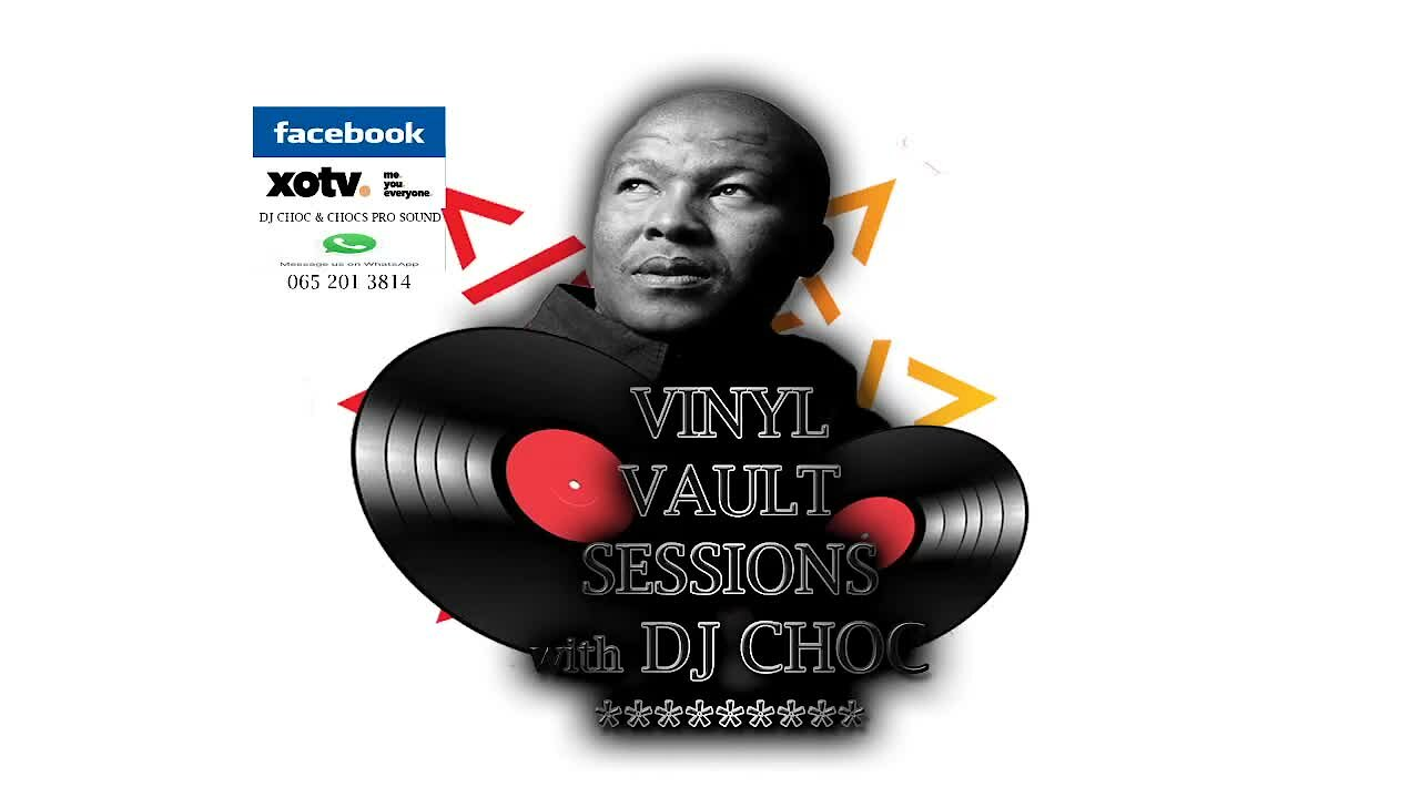 Video poster DJ Choc in the Vinyl Vault  Soulful House Volume 1