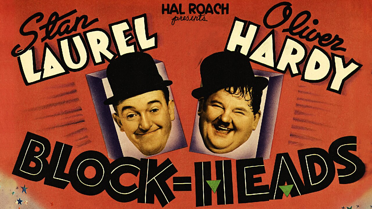 Video poster Laurel & Hardy: Block-Heads (1938)