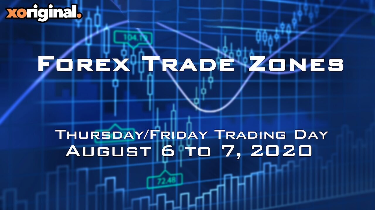 Video poster Forex Trade Zones for August 6 to 7,  2020