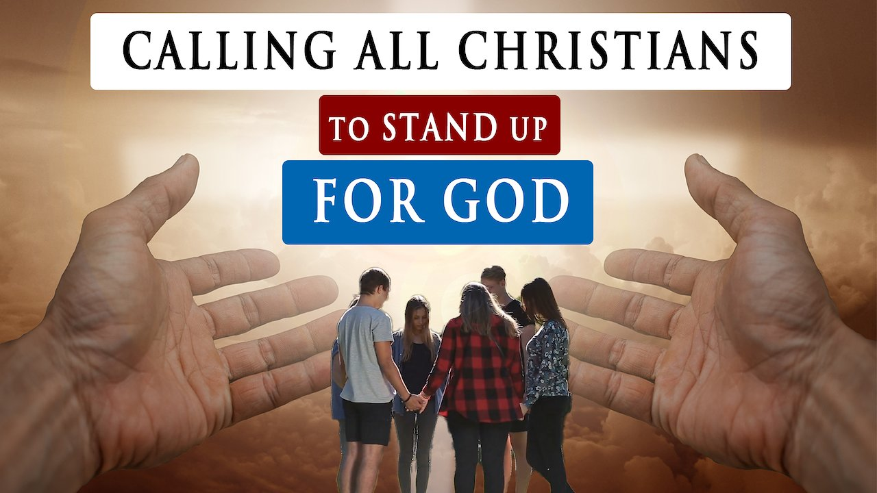 Video poster STAND UP FOR GOD NO MATTER THE COST! | Message for all Christians!