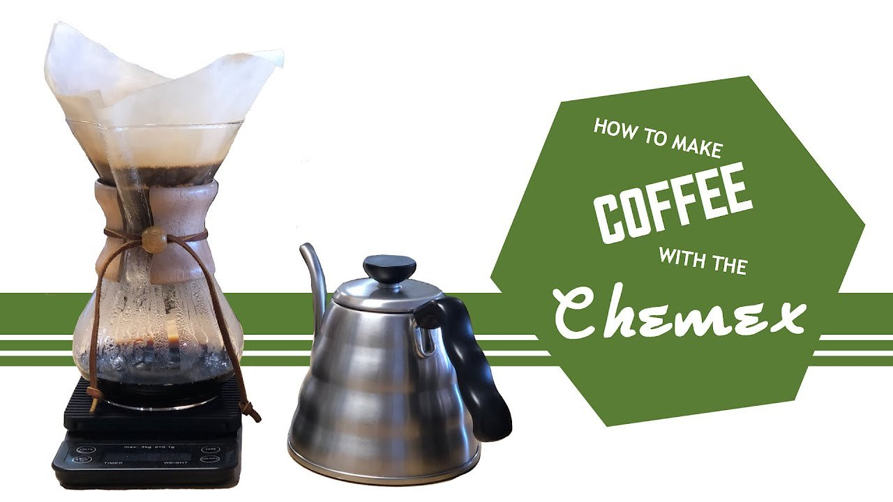 Video poster HOW TO MAKE COFFEE WITH CHEMEX