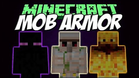 Video poster Mob Armor Mod 1.12.2  MInecraft