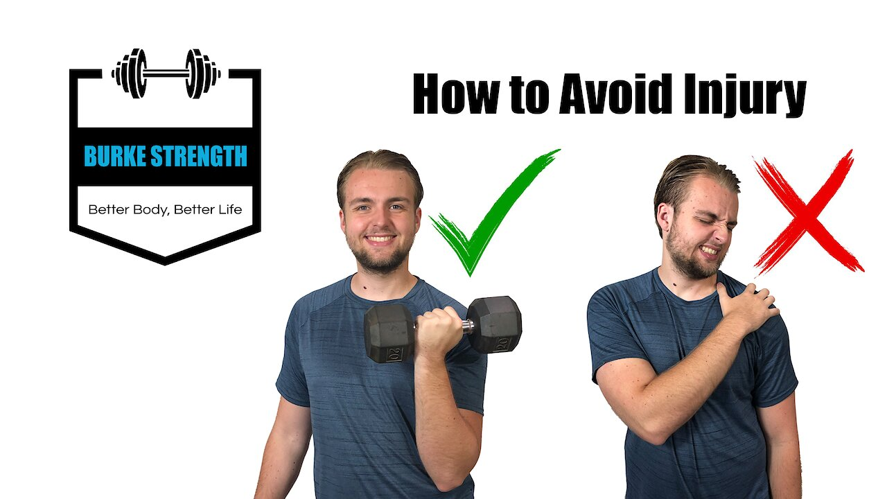 Video poster How to Avoid injury