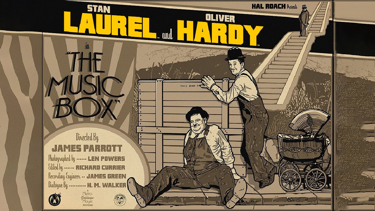 Video poster Laurel & Hardy: The Music Box (1928)